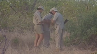 Foursome Inside The African Savanna
