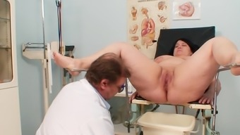 Extensive Gyno Exam By Using Naughty Grow Older