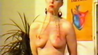 Vintage Online Video Of Bold Slave With Pierced Nipples And Pussy