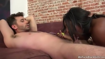 Fascinating Ebony Beauty Gets Fucked Serious By James Deen