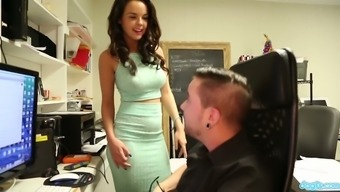 Dillion Harper Knows How To Sexually Suit Her Workaholic Man