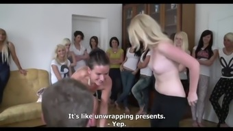 Fortunate One Arrives In Select Most Of The Heated Naked Girls He Likes