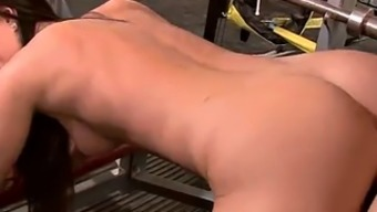 Robust Sporting Activities Lessons In The Gym On His Cock