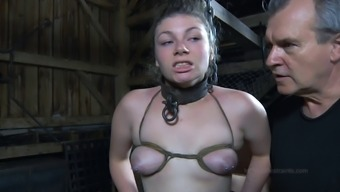 Large Loot Slavery Baby Doll Nice Stupid Ass Getting Spanked In Bdsm