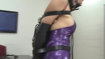 Secretary Rehearsed In Latex And Leather