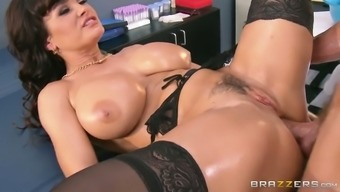 Oversexed Brunette Milf Gets Her Cunt Fucked In Puppy And Missionary Opportunities