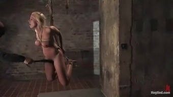 Chest Slavery And Fucking Machine Delights For Kylie Admirable