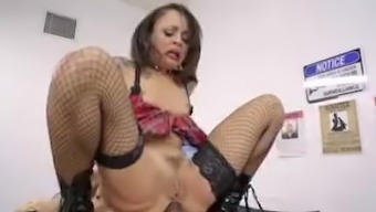 Not The Same Play Ground - Miniscule Teen Holly Hendrix Gets Penalized For The Wrongdoing Of Selling The Illicit Drugs By The Police Officer