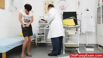 Huge Oma Painfull Her Prolonged Both Legs