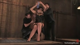 Satine Phoenix Loves Being Fucked By A Couple Of All Men In Bdsm Scene