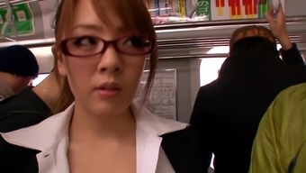 Public Blowjob With A Busty Japanese People Bitch
