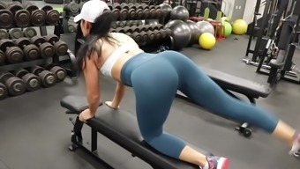 Of Course!!! Fitness Warm Ass Heated Cameltoe 150