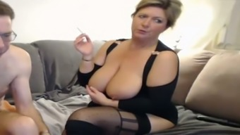Plump Blond Mature Provides Me With Scalp And Rubs Her Opening