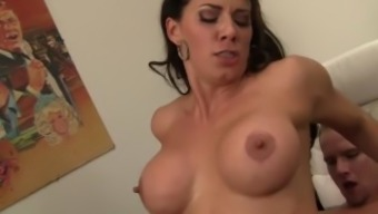 Attractive Cougar Person-In-Charge Gets Fucked Until The Woman Squirts