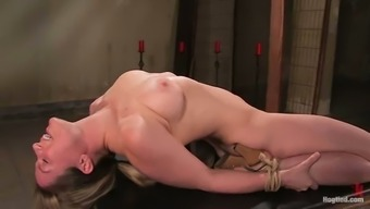 Adaptable Lindsey Grant Gets Her Coochie Toyed Inside A Thralldom Scene