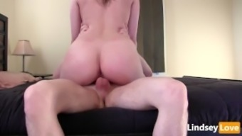 Intense Cycling &Amp; Profound Creampie With Lindseylove