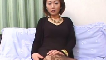 Elegant Japanese Milf Stripping On Video Camera Finding Out Her Sexy Body