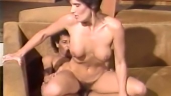 Unquenchable And Elegant Brunette Milf Having Sex Along With A Youthful Dark Colored Stud