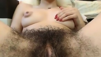 Hot Hirsuite Pussy Along With Large Nipples On Web Camera