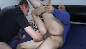 Twice Fisting And Fucking Teenager Tramps Loose Pussy