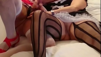 My Nasty Partner Likes Me To Decorate For Being Female Each And Every Time We Fuck On Camera