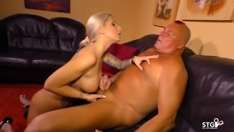Sextape Germany - German Born Love-Making Masking Tape With The Use Of Hot Tattooed Blondhead