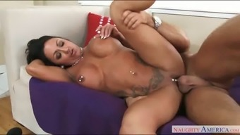 Busty Latina Milf By Using Pierced Nipples Ashton Blake Excursions Massive Elevate By Using Passion
