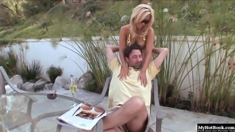 Sexy Brown Milf With The Use Of Great Boobs, Jenny Lopez, Gets It On Doing Her Man