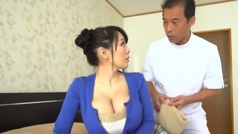 Despite Her Smallish Structure This Japanese Vixen Has Big Luscious Breasts