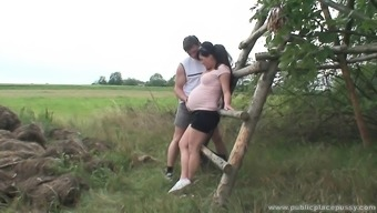 Stunning Becomes Pregnant Date Is Perverted As Torment And It Needs To Fuck Outdoor