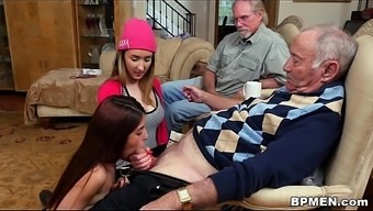 Tiny Teenager Gigi Flamez And Rally Spray Completely Love Old Males