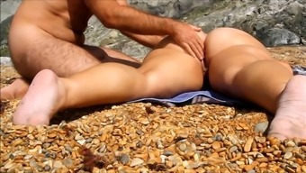 Massage Session Wifey Pussy And Booty At Shore