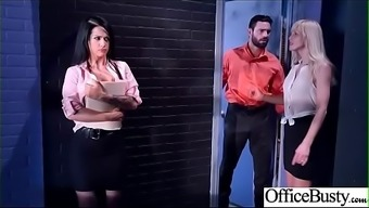 Great Melon Tits Love (Katrina Lime) Like Hardcore Sexual Intercourse In Office Video-12