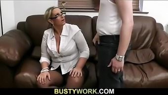 Bbw Advances Legs At Once For His Meat Protein As A