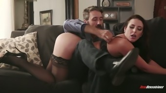 Extraordinary Aussie Splendor Angela Light Colored Is Able To Make A Great Throat Gagging Bj