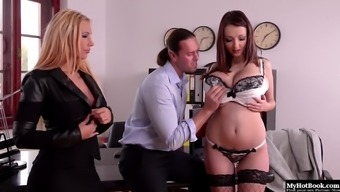 Kyra Warm Really Helps To Hoist Up Lucie Wildes Use To Accept Their Person-In-Charge Lift