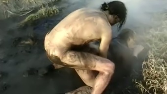 Soiled Intercourse Scene Along With A Malicious Granny Getting Fucked Within The Mud