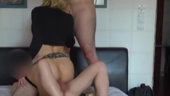 Twofold Rectum, Two Different Cocks In Ass For M.....Hungry Trav