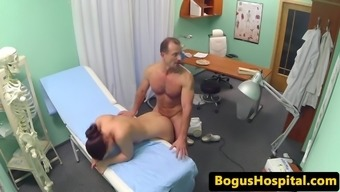 Doctor Pussy Fucks More Clean Before Healthcare Provider Connects