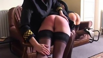 Britain Device Friends Spanked