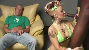 Hubby Loves Watching His Wife Candy Monroe Get Pounded By A Bbc