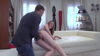 Almost Titless Ukrainian Chick Emma Fantasy Is Hammered Rough By Rocco