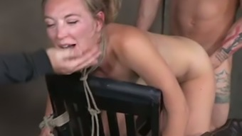 Being Handcuffed All Exposed Mild Haired Moaner Gets Fucked By Studs (Fmm)