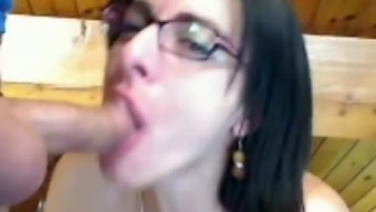 Attractive Conversational French No-Gag Throat Gagging