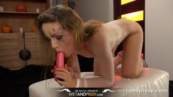 Piss Drinking - Barbe Performs With Her Own Luke-Warm Wee And Toys