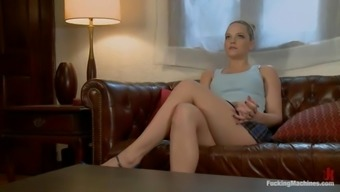 Alexis South Texas Gets Stunningly Fucked To Really Maximum Through A Sexual Intercourse System
