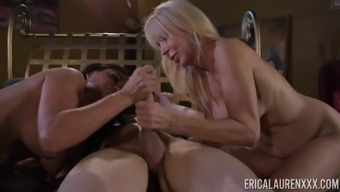 Nasty Cock-Suckers Claudia Most Gorgeous And Erica Lauren Within A Threeway