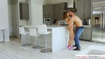 Exciting Tanned Gf Adriana Chechik Gets Nailed Right On Her Bf'S Bike
