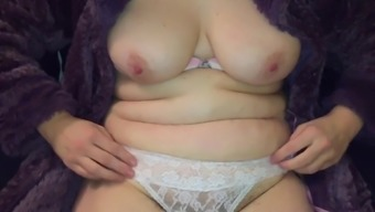 Mates Mum Uncovering Tits And Pussy In Clothing Wedding Gown