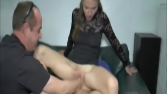 Teenager Girl Double Fists And Joystick Penetration